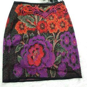 Anthropolgie Cecilia Prada Mini Floral Skirt